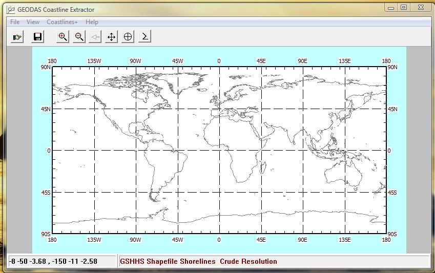 Wave Resource Estimation Using DHI MIKE - Retrieving Coastline Data